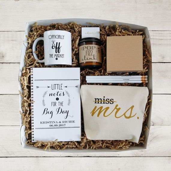 Cute Wedding Gift Ideas: Future Mrs Gift Box Bride To Be Gift. Super Cute Idea