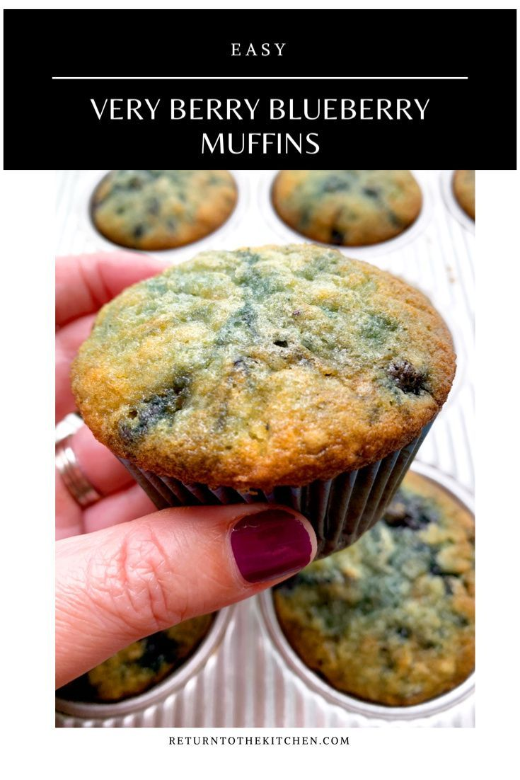 Very Berry Blueberry Muffins Very Berry Blueberry