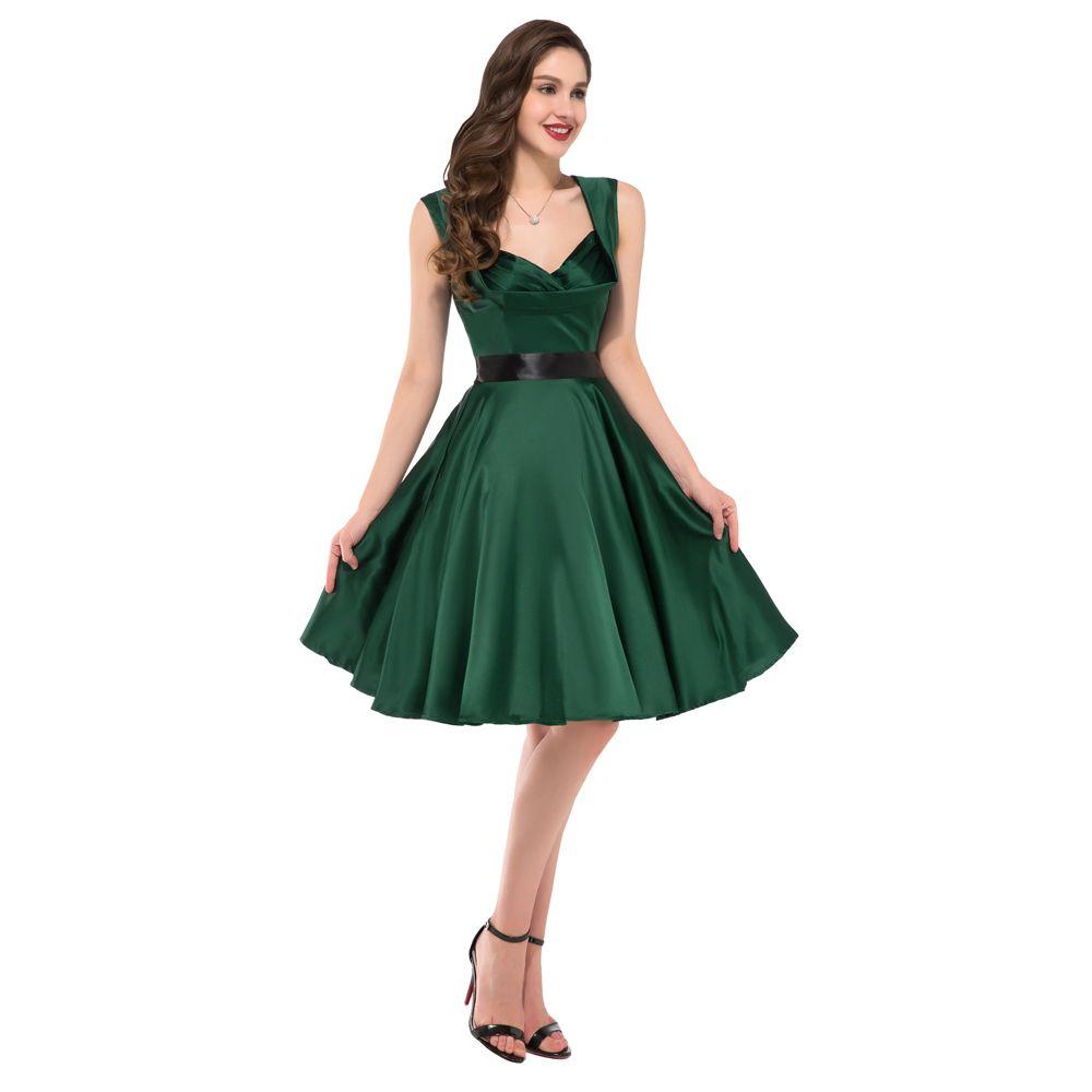 Dark-Green-Dress- | Green Party Dress | Pinterest | Green party ...