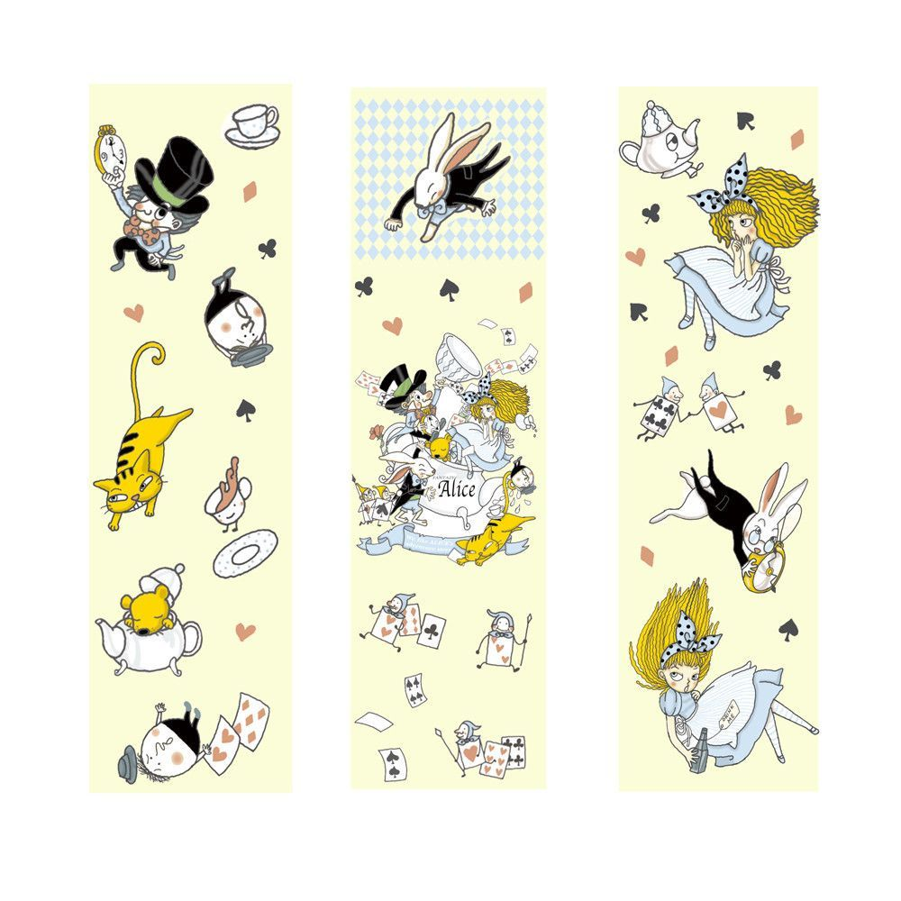 Alice in Wonderland Sticker • Shinzi Katoh Design Japanese Sticker