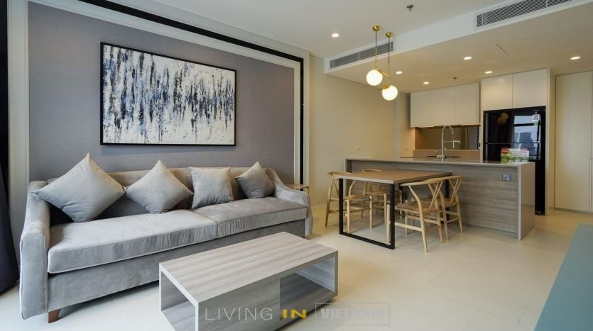 Id 1750 City Garden 1 Bedroom Apartment For Rent In Hcmc 1 Bedroom Apartment Cool Apartments Furnishings