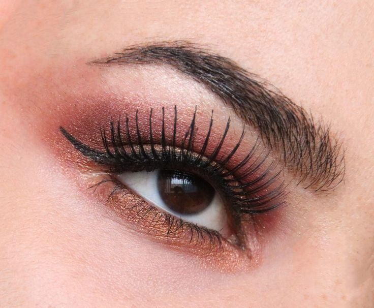 Bronze Eyeshadow look with Makeup Revolution Soph X