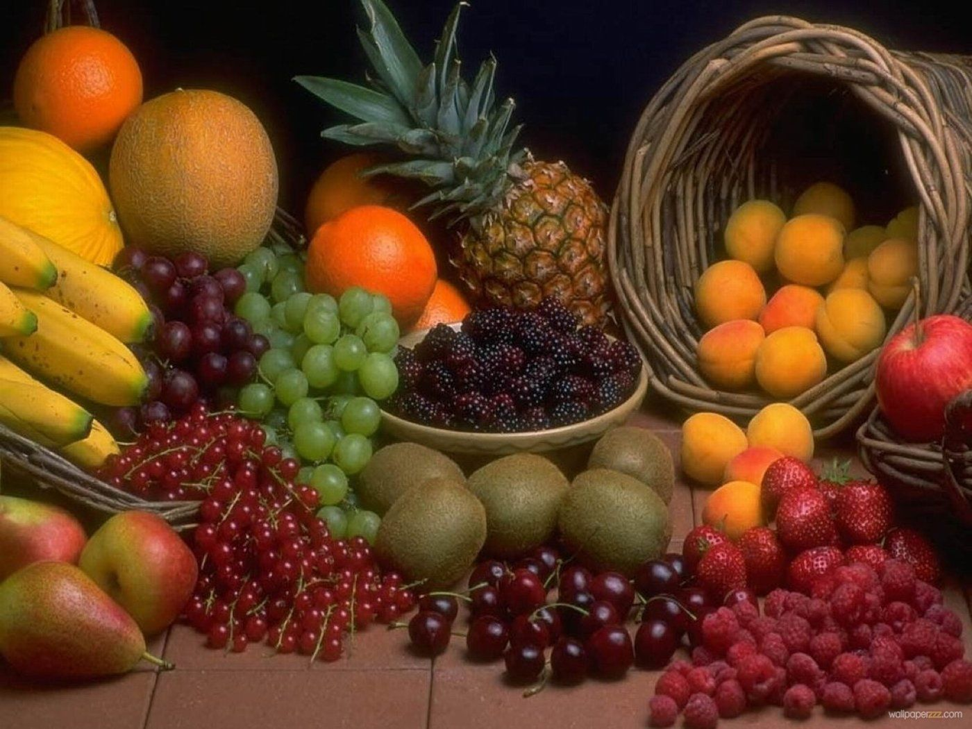 Download Lots Of Fruit Wallpaper Free Wallpaper Raw Food Recipes Healthy Fruits Organic Recipes
