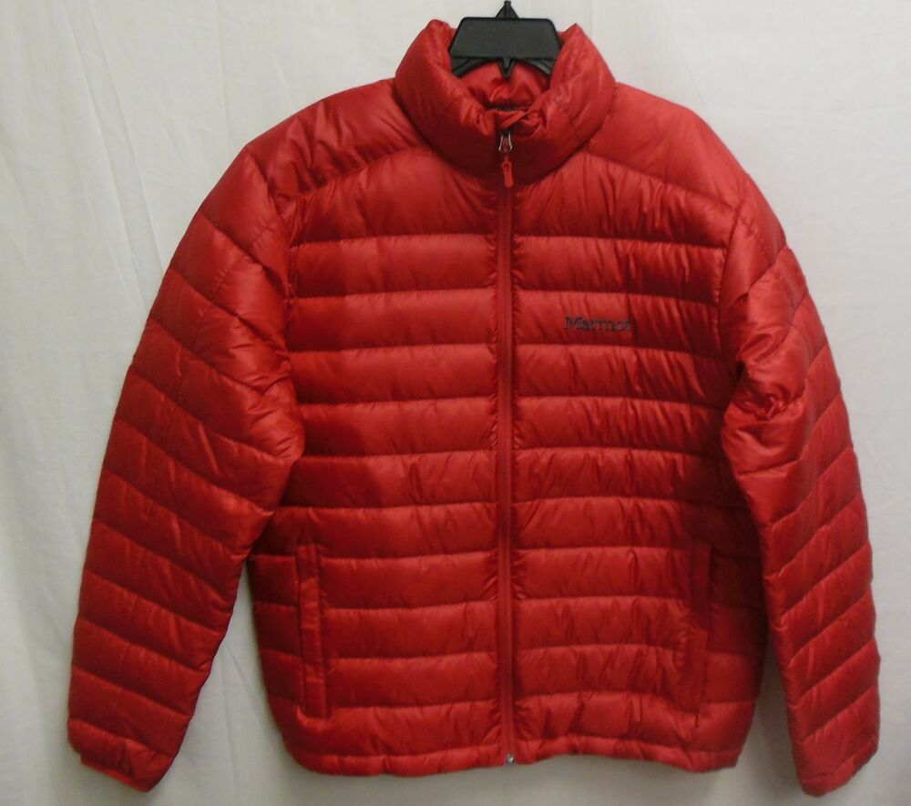 2e5f91f74 Marmot Men's Packable Azos Down Jacket Fill Power 700 Red Large ...