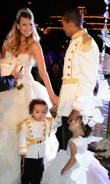 Entertainment news: Mariah Carey\'s fairytale vow renewal. Sheknows ...