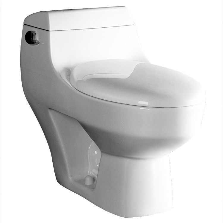 Athena contemporary 16 gpf elongated onepiece toilet