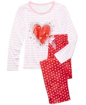 d31bd68ab Max   Olivia 2-Pc. Hearts Pajama Set