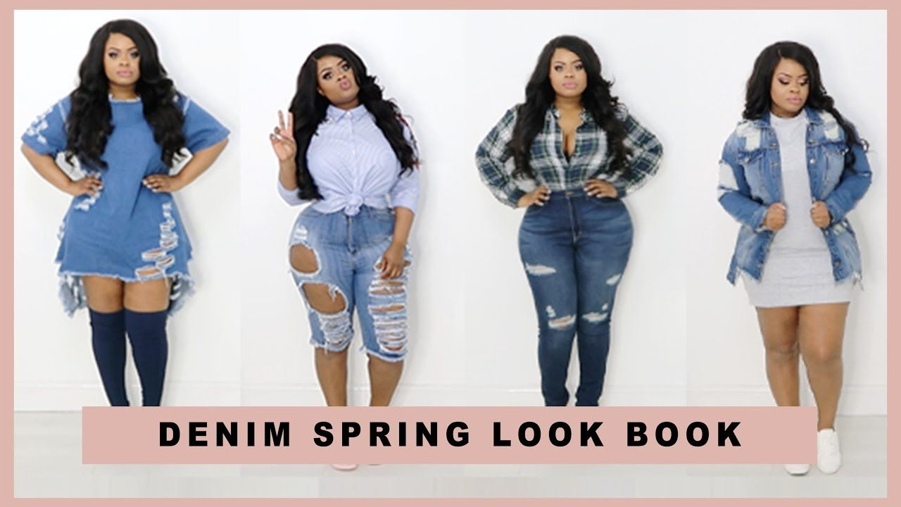plus size | curvy girl denim spring lookbook ft. fashion nova