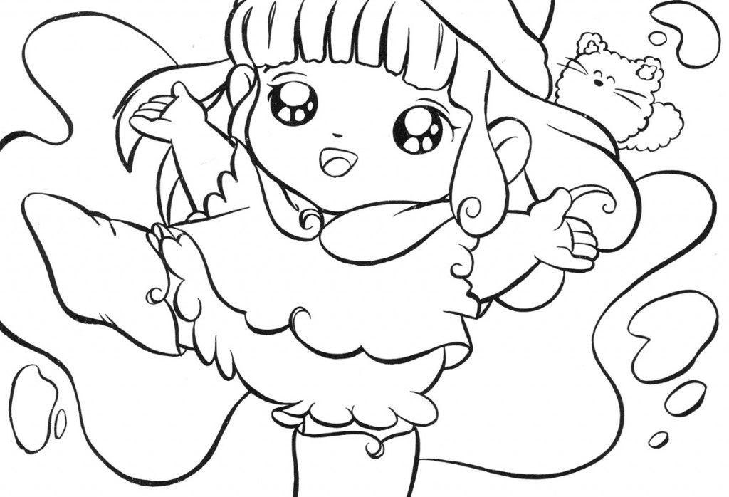 Stampa e colora il disegno della dolce memole cartoons - Animali dei cartoni animati a colori ...