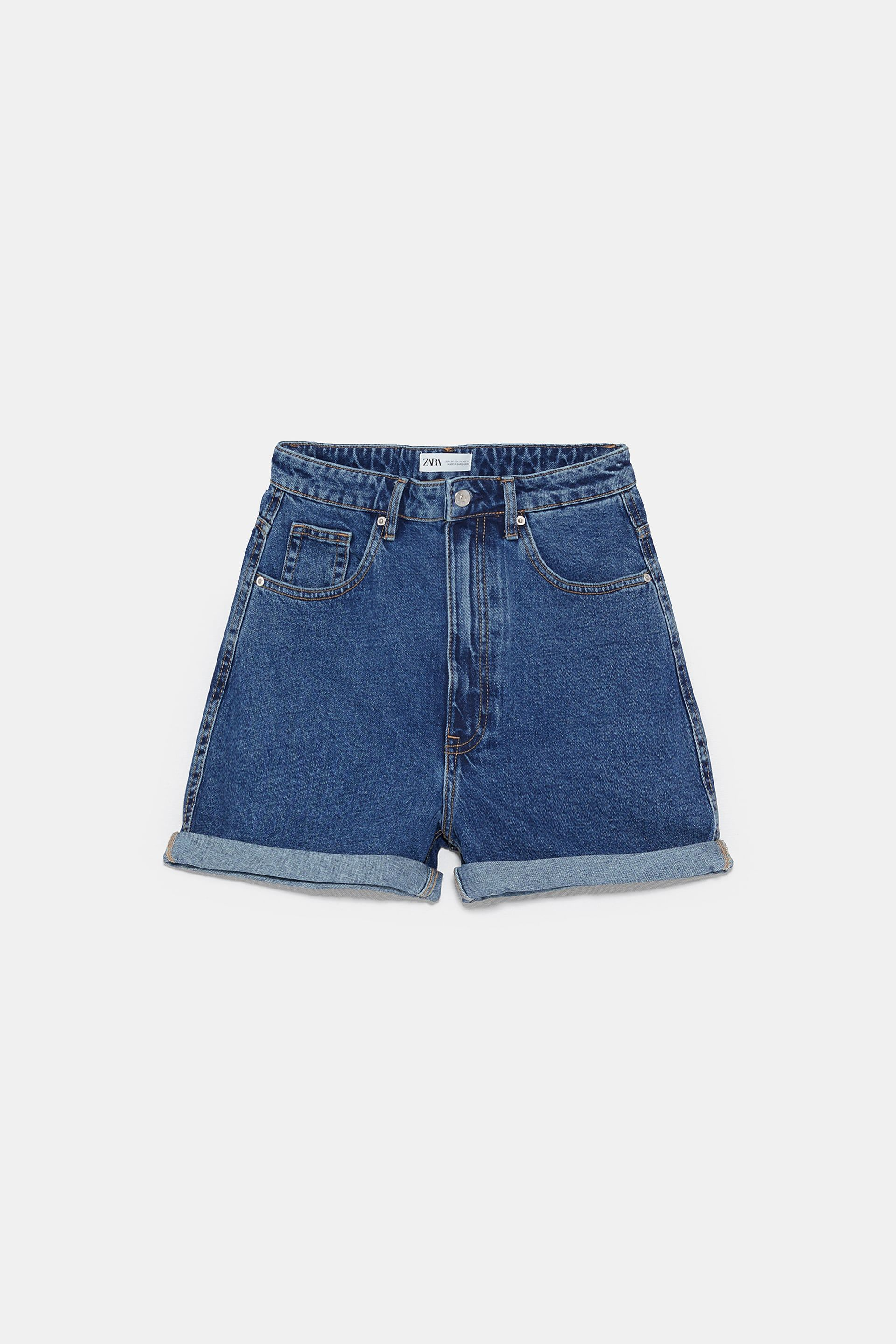 6e511466 AUTHENTIC DENIM MOM FIT SHORTS - BEST SELLERS-TRF | ZARA United States
