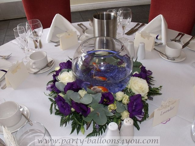 Fish Bowl Decorations For Weddings Wedding Gold Fish For Hire Centerpieces Weddings And Fish Wedding 27 & Fish Bowl Decorations For Weddings Astounding Fish Bowl Decoration ...