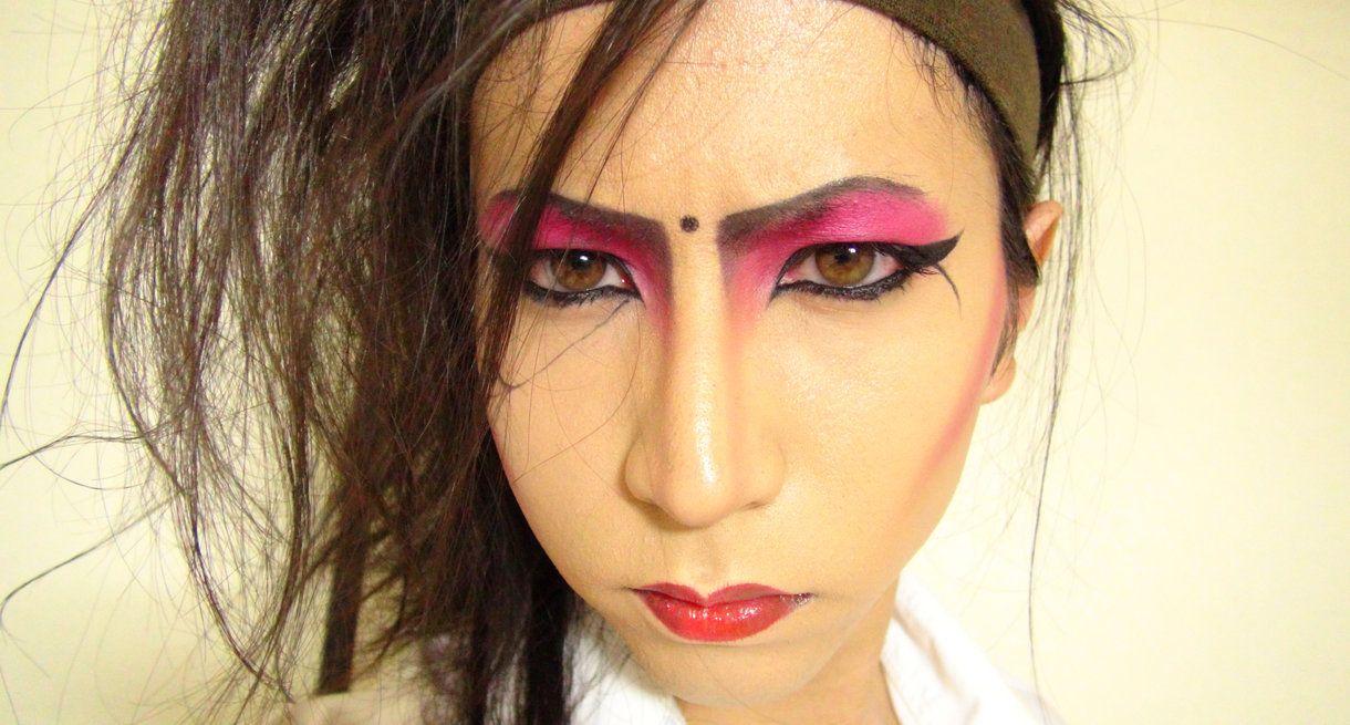 Kisamake. Hide. X Japan. makeup. Makeup, Face makeup
