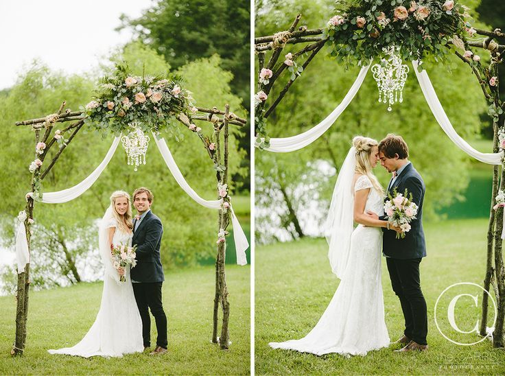 Find This Pin And More On Wedding Handmade Diy Rustic Arbor