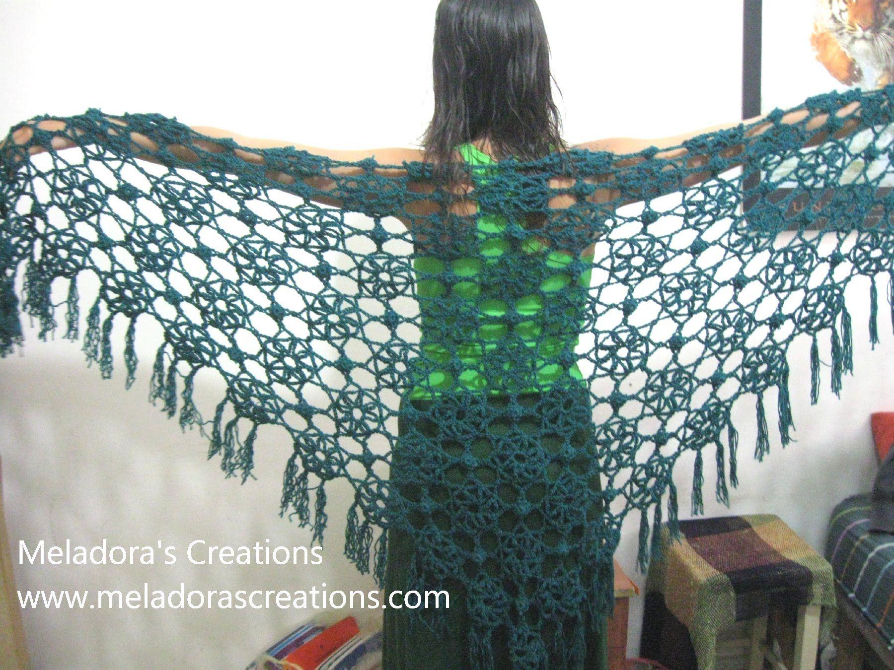 Lacy Flower Shawl - Crochet Tutorial ~ **Free Crochet ...