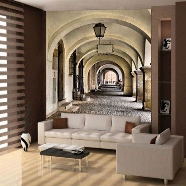 22 Amazing 3d Wall Mural Design Ideas Living Room