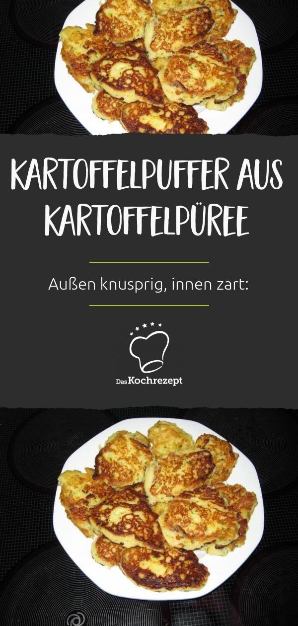 Kartoffelpuffer aus Kartoffelpüree