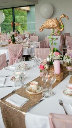 Alice In Wonderland Vintage Garden Tea Party Dusty Pink And Gold Wedding Theme
