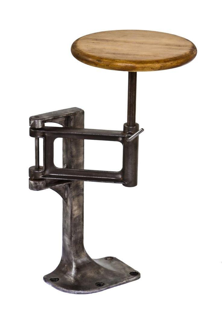 floor mounted bar stools - Google Search   Blacksmithing   Pinterest ...