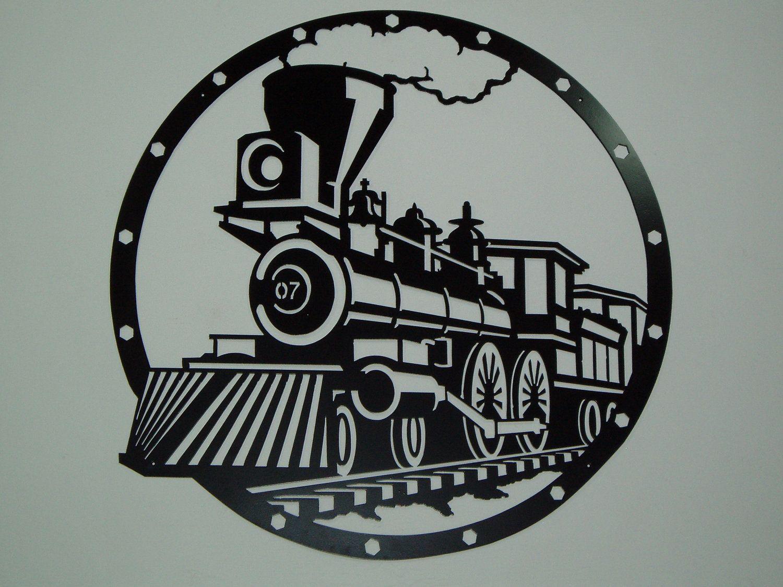Vintage Train Clip Art Displaying 13 - Steam
