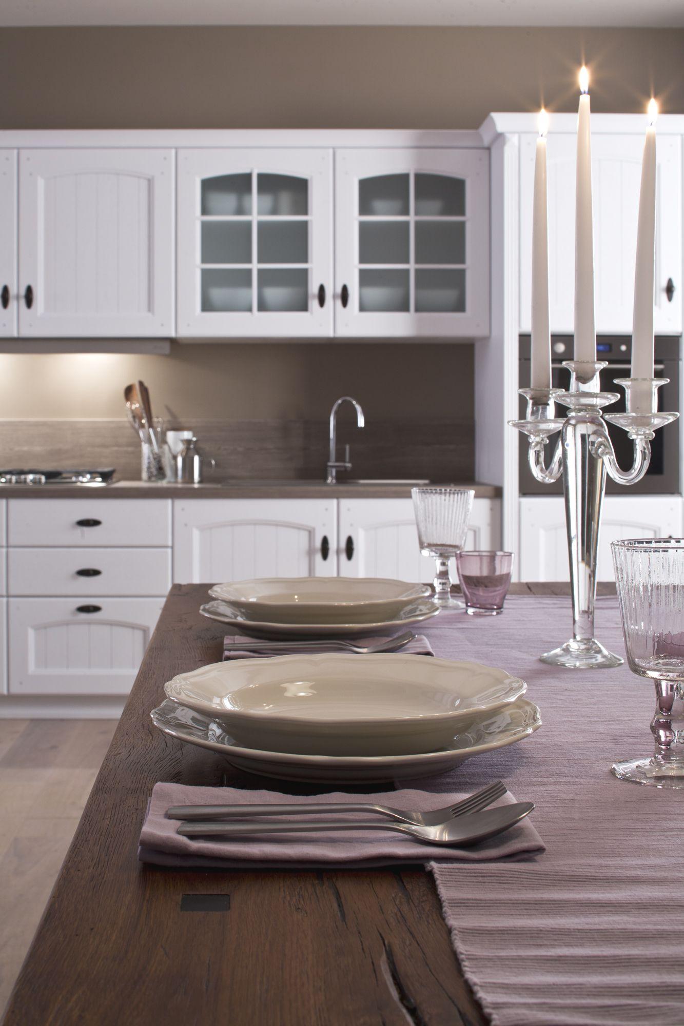 Arrex Le Cucine: lo stile classico propone il colore bianco che non ...