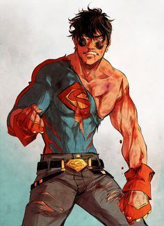 All the happy ideas for his brain  body superhero