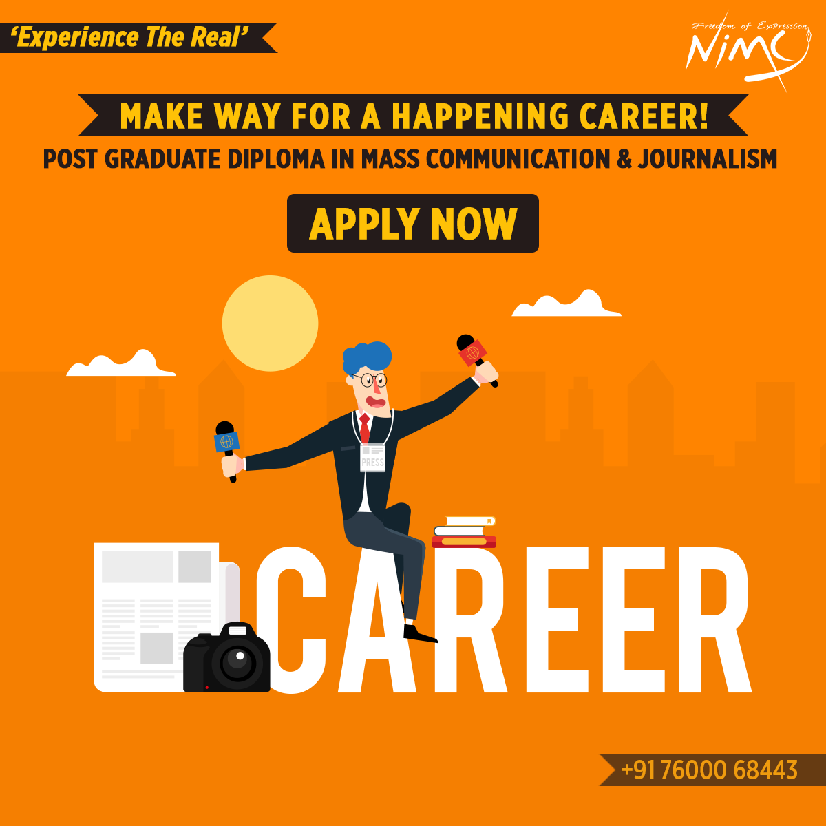 Make Way For A Happening Career Mass Communication University Admissions Admissions