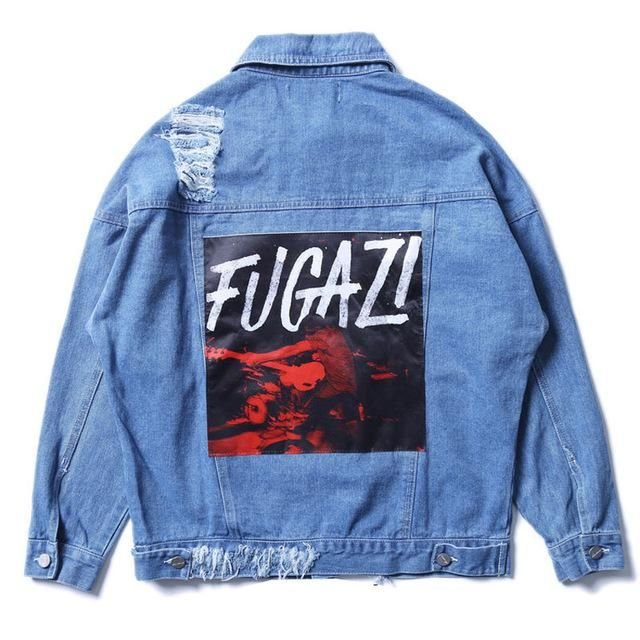 Fugazi Denim Jacket Design Idea Jackets Denim Denim Jacket Men