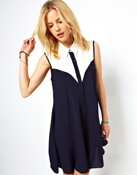 Naval Dress from Boho Muse on Storenvy