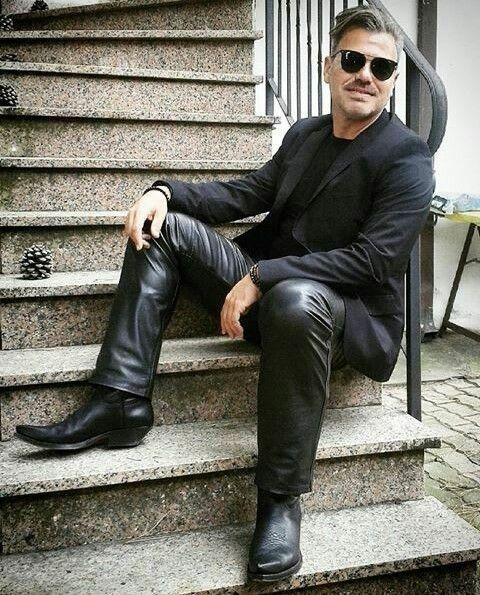 gay men sendra boots pants leather