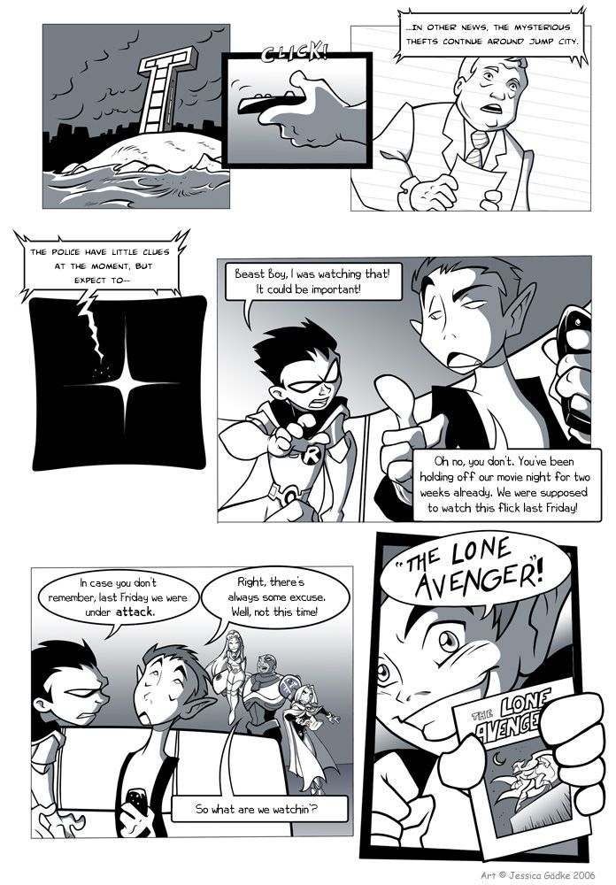 Teen Titans Fan Comic, Page 1 Exciting Title, I Know Perhaps One Day -4792