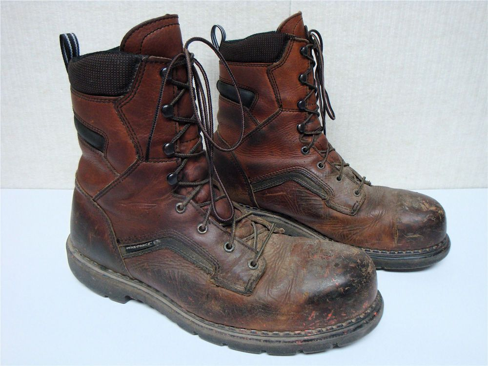 RED WING #2238 - MEN'S BROWN DISTRESSED LEATHER STEEL TOE WORK ...