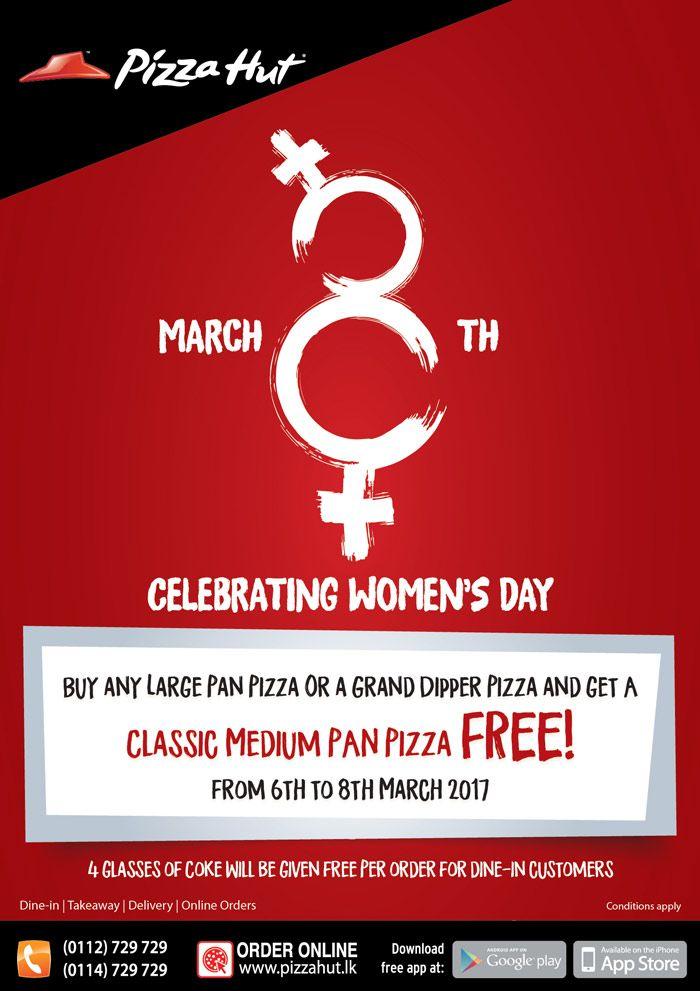 Pizza Hut Open Christmas Day.Celebrating International Women S Day With Pizza Hut