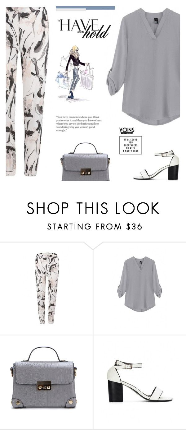 """""""Yoins XVI: FLORAL PANTS"""" by paradiselemonade ❤ liked on Polyvore featuring yoins, yoinscollection and loveyoins"""