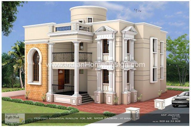 Punjab haveli design north indian home design bungalow for Modern house designs in punjab
