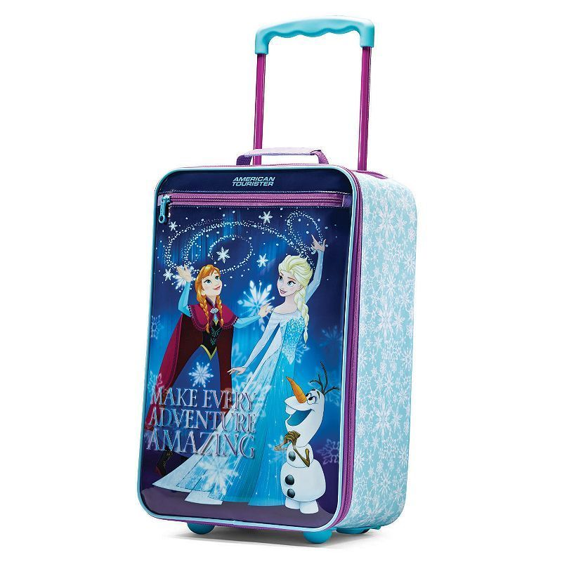 Disney's Frozen 18-Inch Wheeled Carry-On by American Tourister, Pink