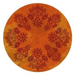 Autumn Lace Round Tablecloth
