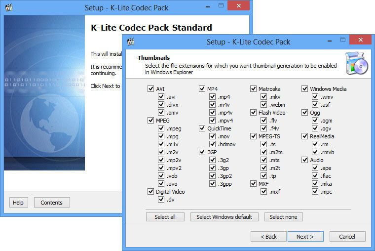 K-Lite Codec Pack 2018 Free Download for Windows + MAC +