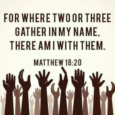 Image result for Matthew 18:20