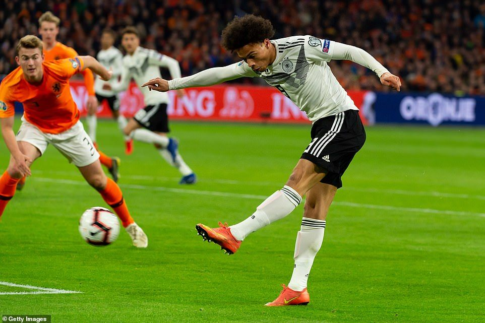 a6b27e33d86 Holland 2-3 Germany: Nico Schulz hits late winner in Euro 2020 qualifier