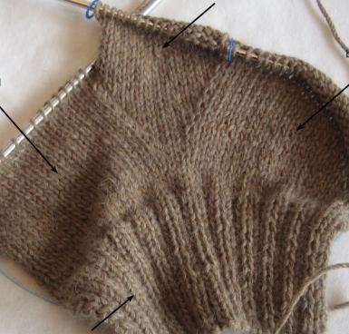 Pin By котова On спицы вязание вязать варежки ручное вязание