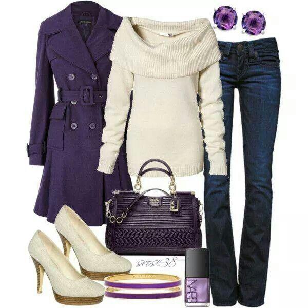 Fashion, moda, estilo, morado, púrpura
