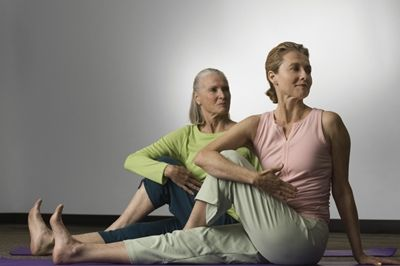 yoga for the senior set  senior fitness stretching