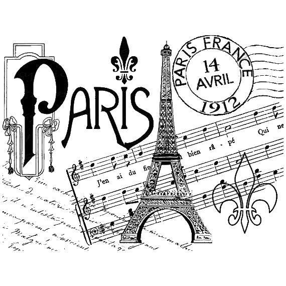 Todo transfer | Free Printables | Pinterest | Decoupage, Paris y ...