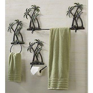 Palm Tree Bath Set This Would Match Perfect Palm Tree