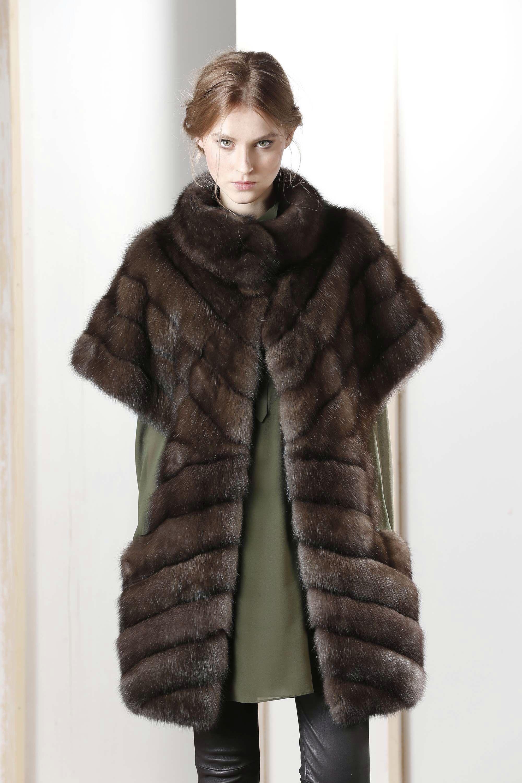 Russian Sable Fur Vest