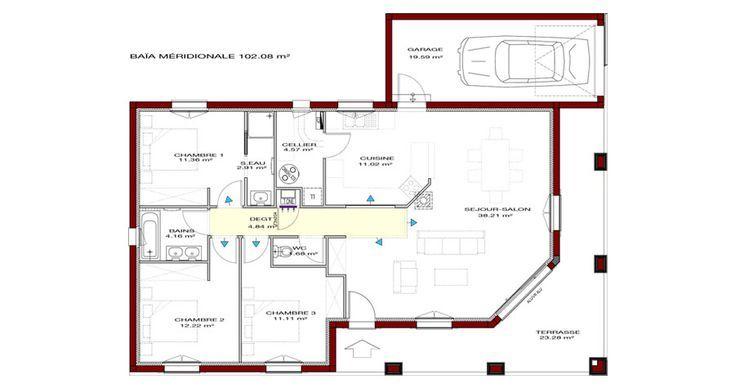 Plan maison régionale plan maison typique IGC Construction Fast
