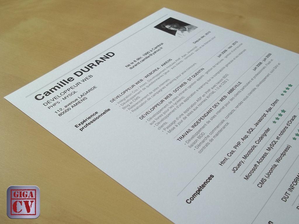 CV, lettre de motivation et tests psychotechniques. Style