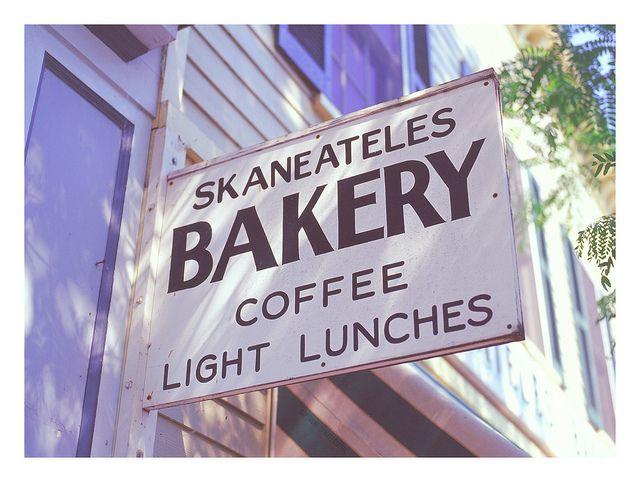 Skaneateles Bakery - KODAK E100 Film - 001_1_cc, via Flickr.