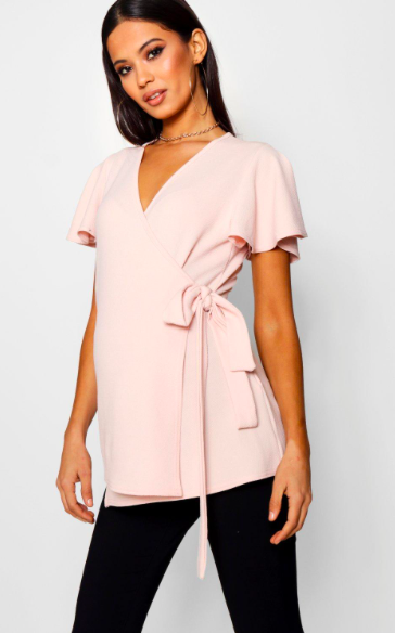 Super Cute Pink Maternity Top! Click This Pin To Find It