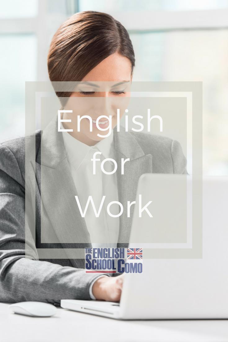 English For Work Imparare Inglese Inglese Attualita